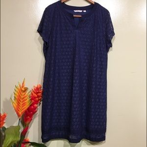 Isaac  Mizrahi Live Blue Dress